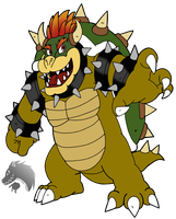 Bowser collab SSBM by Chibi-Tediz