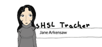 Jane Arkensaw, Super High School Level Tracker by Funkycat206