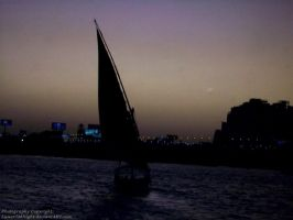 Nile River by Lunar786Night