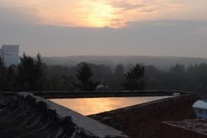 On the roof by Balzzar
