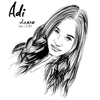 Portrait - Adi F. by LilachSigal