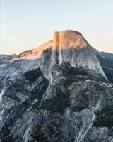 Half Dome Sunset 2 by JForbes1701