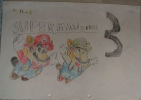Super Mario Bros 3 by DeusIX