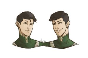 The Beifong Twins by TheVioletPanda
