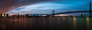 Ben Franklin Bridge 2 by MrNovembr