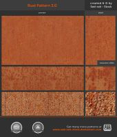 Rust Pattern 3.0 by Sed-rah-Stock