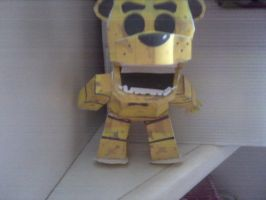 golden freddy ataque !!! by paperfreddy