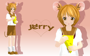 MMD Newcomer: Jerry by tweekcrystal