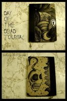 Day of the Dead Journal by JynxsBox