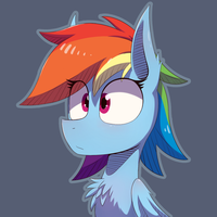 Dashie by Malphee