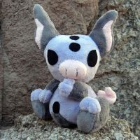 Grumpig Plush by Patchwork-Shark