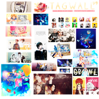 Tag Wall by Rosba18