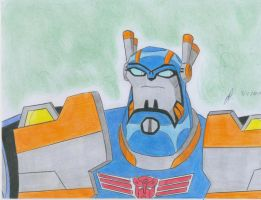 Sentinel Prime Transformers Animated by ailgara