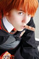 Ron Weasley - Eat, you'll feel better by Kida-Takashi