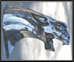 stainless steel gargoyle by RandyHand