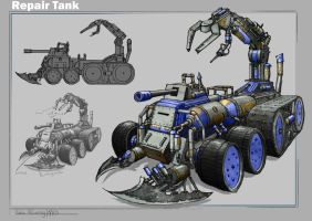Repair tank design by RobbieMcSweeney