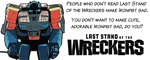 Ironfist Wreckers banner by Jeysie