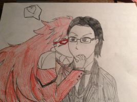 Grell and Will by ShadowTheShinigami