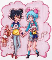 Mousy Love by Skialdi