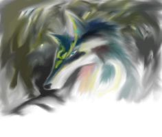 Wolf link sketchy by Forrestris