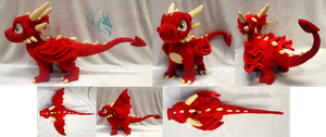 Sulea - Custom Plush by Fire-Topaz