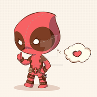 deadpool chibi 3 by animepapertoys
