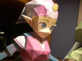 Princess Zelda Papercraft by Majora24