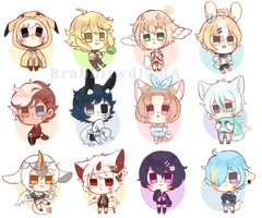 smol cheeb batch #2 by Brabbitwdl