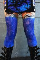 Lace Stay Up - Stockings Bodypaint by MUA-Maano