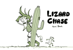 LIZARD CHASE cover by saffronscarf