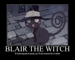 Blair The Witch Motiv Poster by Zion500