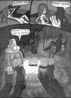 Depths of Hell: Page 1 by MidnightQuill