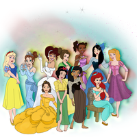 the disney girls by Camilla1989