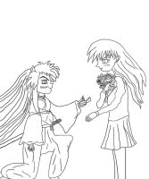 Marry Me, Kagome by drumgirl
