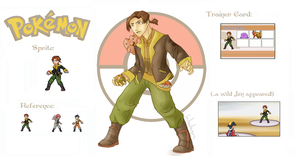 Pokemon Trainer Jim Hawkins by wanlingnic