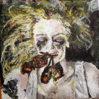 Growth and Decay Painting 1 by LucyHarding