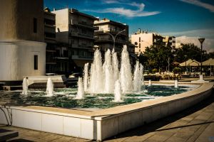 The Fountain Of Alexandroupolis by JapeKing