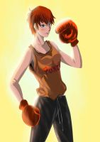Boxing Woman by imamiewha