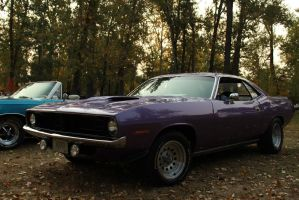 Purple 'Cuda by KyleAndTheClassics