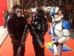 Shadow troopers and clone trooper by MrL3821