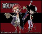 OP-Chibi Shanks and Mihawk- by vtophya