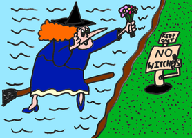 Granitoons Fanart - Constance Thwaite As A Witch by AuldMisdione