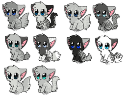 kits for Arcticstarwhitestorm by crazycatinthehouse
