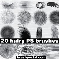 20 free hairy brushes by Brushportal.com by Brushportal