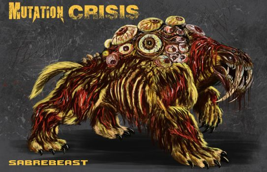 Mutation Crisis - Sabrebeast by WretchedSpawn2012