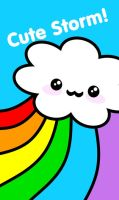 New card: Cute storm by The-Cute-Storm