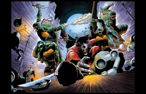 Teenage Mutant Ninja Turtles!!! IN COLOR!! by aminamat