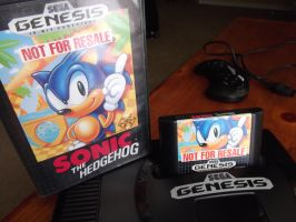 Sega's Sonic the Hedgehog by The4residentsofevil