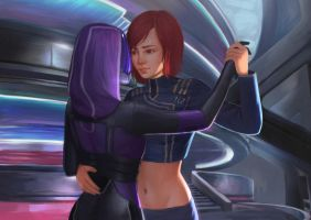 Romantic Interlude (Mass Effect) by Mikesw1234