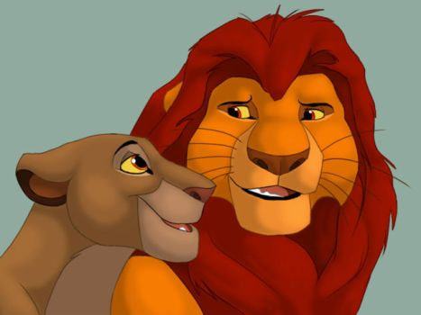 Sarabi and Mufasa by stuffed